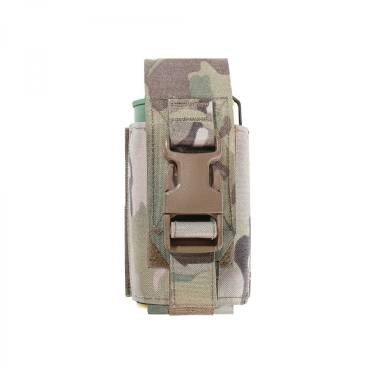 Warrior Laser Cut Smoke Grenade Pouch MultiCam