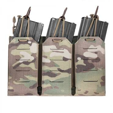 Warrior Laser Cut Triple Bungee 5.56 Panel MultiCam