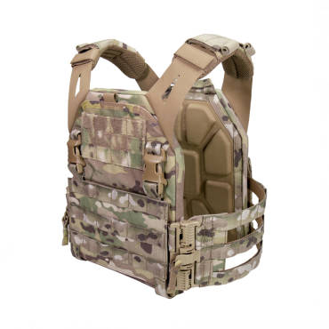 Warrior Low Profile Carrier V2 with Ladder Sides MultiCam