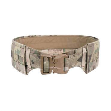 Warrior Low Profile Laser Belt with Polymer Cobra Belt MultiCam