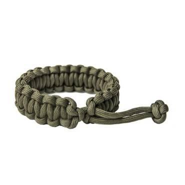 Survival Paracord  Bracelet Mad Max Olive Green