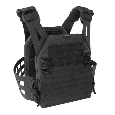 Warrior Laser Cut Low Profile Carrier V2 With ladder Sides Black