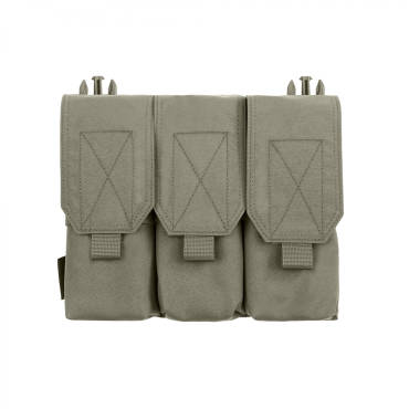 Warrior Removable Triple Covered M4 Pouch for RPC Ranger Green