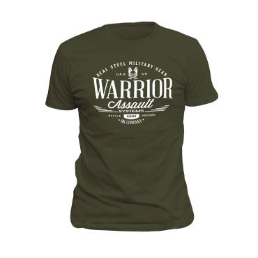 Warrior Vintage T-Shirt Dark Green