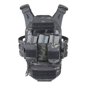 Warrior LPC Size Medium Ladder Sides, Detachable Front Panel Mk1 and DDVUP in Multicam Black