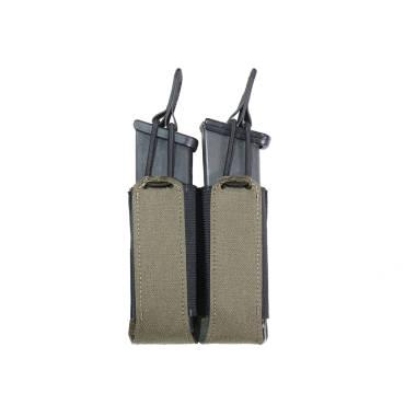 Warrior Laser Cut Double Bungee Pistol Pouch Ranger Green