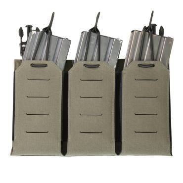Warrior Laser Cut Detachable Front Panel Triple Bungee 5.56 Panel Ranger Green