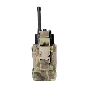 Warrior Adjustable Radio Pouch MultiCam