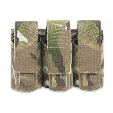 Warrior Triple 40mm Grenade MultiCam