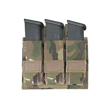 Warrior Triple DA 9mm Pistol MultiCam