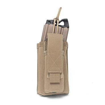 Warrior Single 5.56mm/9mm Mag Pouch Coyote Tan