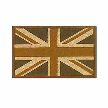 Warrior Subdued Velcro Union Jack Patch