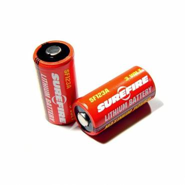 Surefire CR123 Batteries Pack Of 2