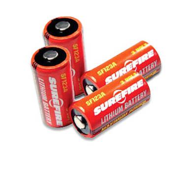 Surefire CR123 Batteries Pack Of 4