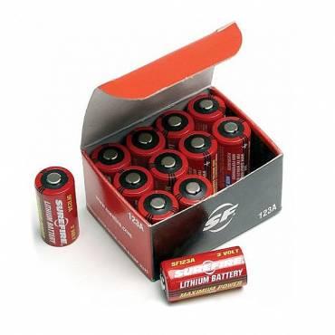 Surefire CR123 Batteries Pack Of 12