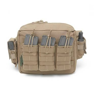 Warrior Low Profile Grab Bag Coyote Tan