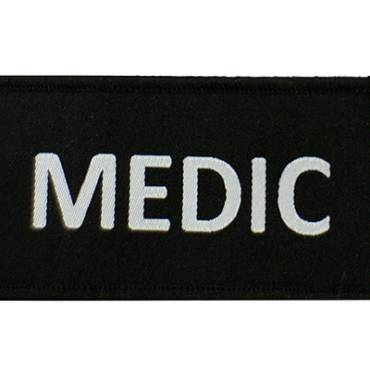 Warrior Medic Patch Black