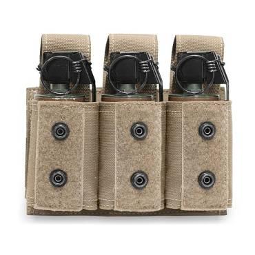 Warrior Triple 40mm Grenade Coyote Tan