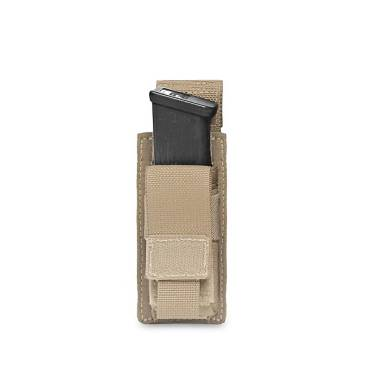 Warrior Single DA 9mm Pistol Coyote Tan