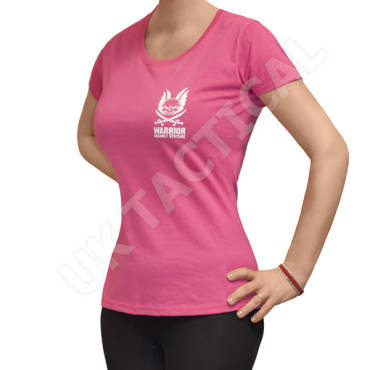 Warrior Ladies T-Shirt Pink