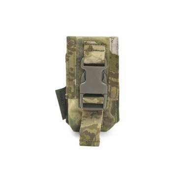Warrior Strobe Compass Pouch A-TACS FG
