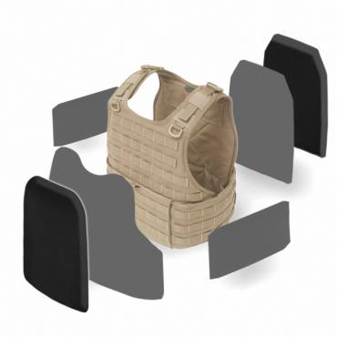 Warrior RICAS Compact Base with Nexus Soft Armour and Level IV Hard Armour