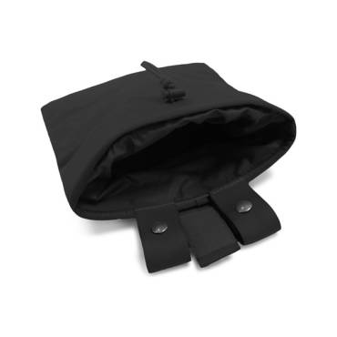 Warrior Roll Up Dump Pouch Black
