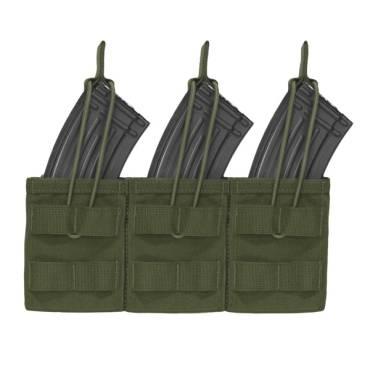 Warrior Triple Open AK7.62mm Olive Drab