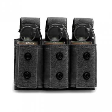 Warrior Triple 40mm Grenade Black