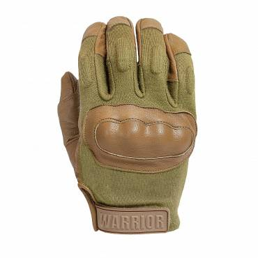Warrior Enforcer Hard Knuckle Glove Coyote Tan