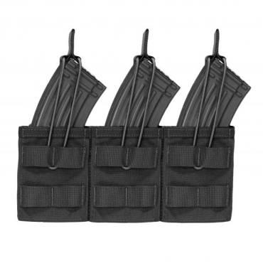 Warrior Triple Open AK7.62mm Black