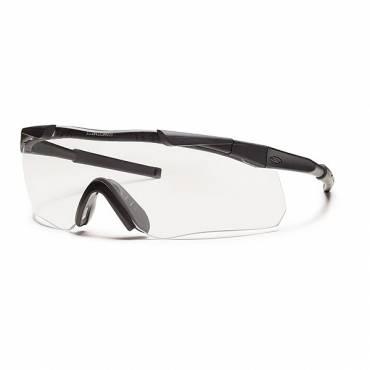 Smiths Aegis Arc Glasses Black Frame Clear Lens, Grey Spare