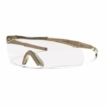 Smiths Aegis Arc Glasses Tan Frame Clear Lens, Grey Spare