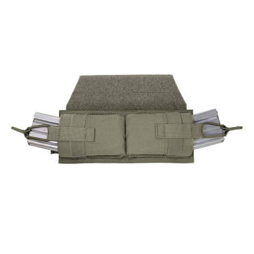 Warrior Horizontal velcro MOLLE Panel Ranger Green