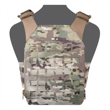 Warrior Laser Cut Assaulters Back Panel MultiCam