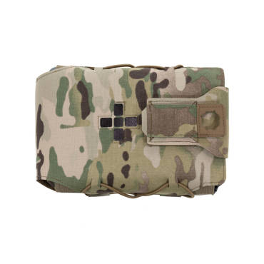 Warrior Laser Cut Large Horizontal Individual First Aid Kit MultiCam