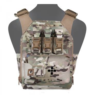 Warrior Laser Cut Assaulters Back Panel MK1 MultiCam