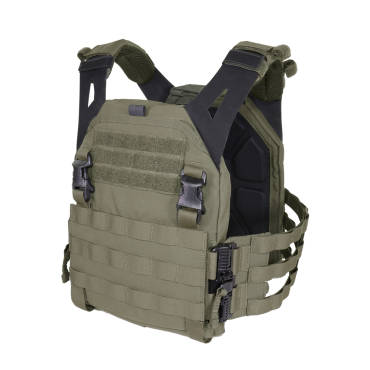 Warrior Low Profile Carrier V2 with Ladder Sides Ranger Green