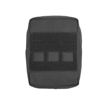 Warrior Laser Cut Small Vertical Utiliy Pouch Black