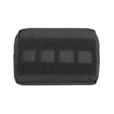 Warrior Laser Cut Small Horizontal Utility Pouch Black