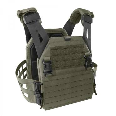 Warrior Laser Cut Low Profile Carrier V2 With ladder Sides Ranger Green
