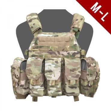 Warrior DCS M4 Medium/LARGE MultiCam