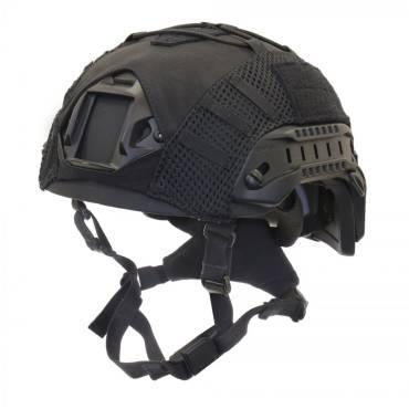 Nexus Black SF M3 Helmet with Rails, NVG Shroud, BOA Dialler, Black Helmet Cover