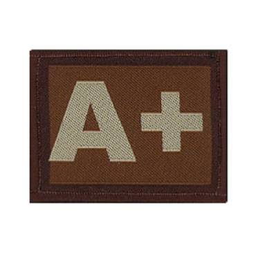 Warrior A+ Positive Velcro Patch - Tan
