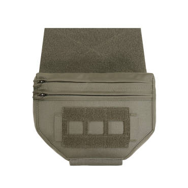 Warrior Laser Cut Drop Down Velcro Pouch Ranger Green