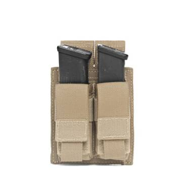 Warrior Double DA 9mm Pistol Coyote Tan
