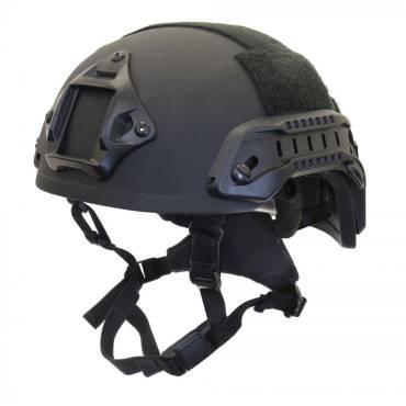 Nexus Black SF M3 Helmet with Rails, NVG Shroud, BOA Dialler and Velcro