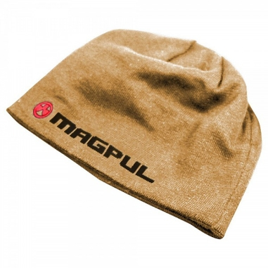 Magpul LOGOTEXT Skull Beanie Colours-Coyote