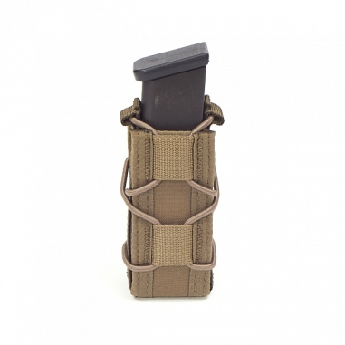 Warrior Single Quick Mag for 9mm Pistol Coyote Tan
