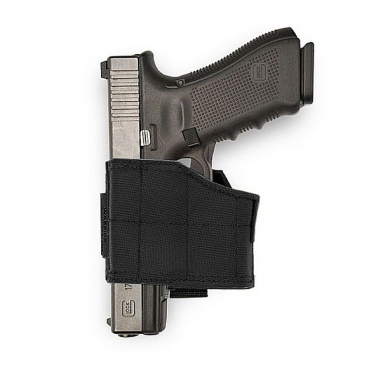 Warrior Universal Pistol Holster Left Hand Black